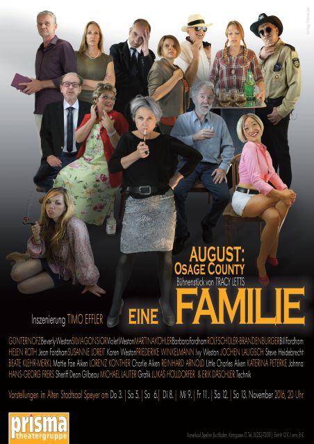 Plakat Eine Familie 2016